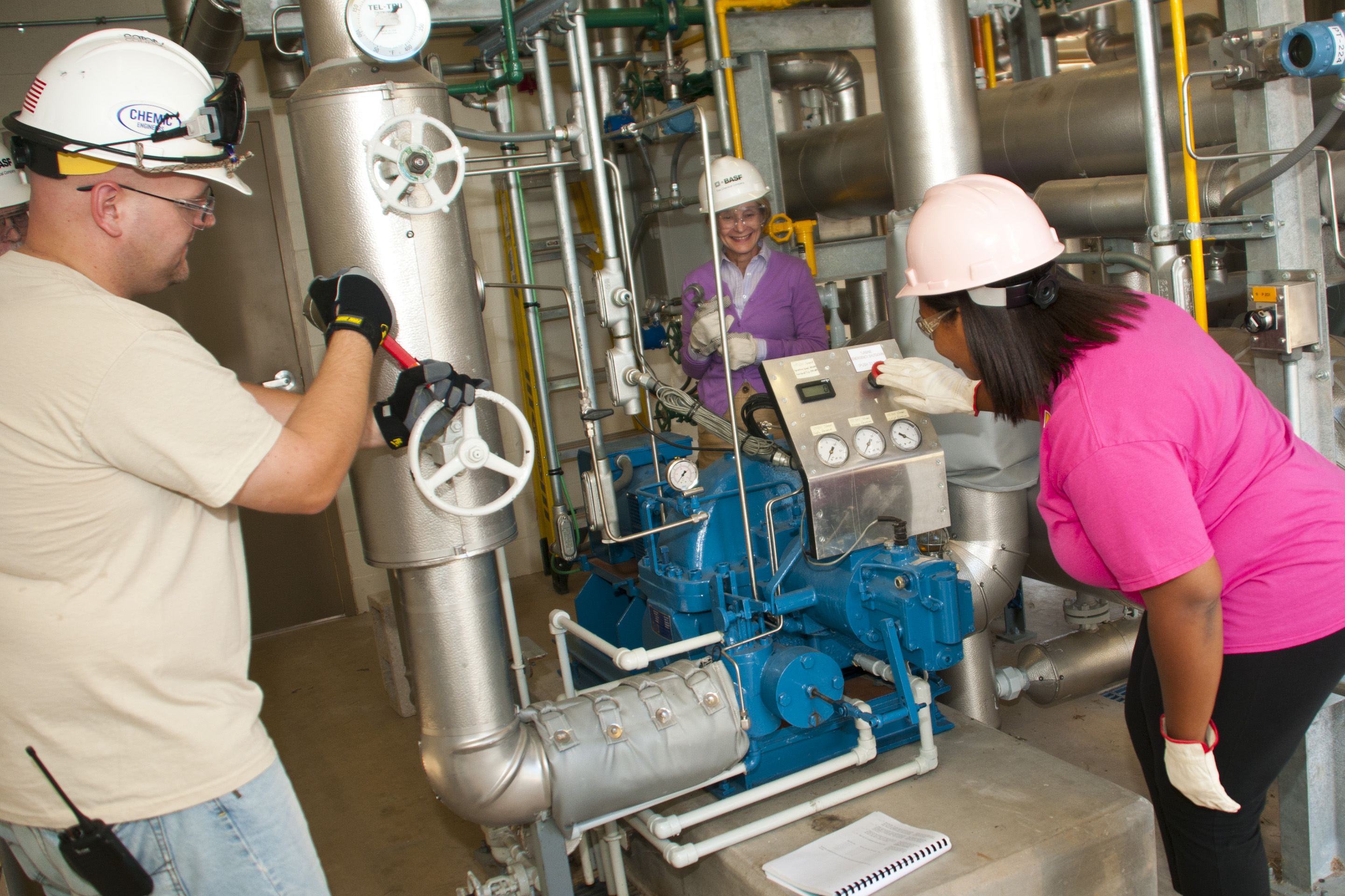 Program Chemical Technology Process Operation Option Nuclear Power